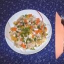 Csirkesaláta sárgarépával