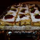 Csodálatos rácsos sütemény