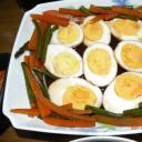 Kinai főtt tojás /  Yude tamago no chúkafú nimono