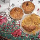 Diós sütőtökös muffin