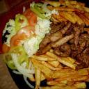 Gyros salátával