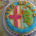 Alfa Romeo torta (Legyező torta)