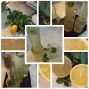 Frissítő Menta Ital citrommal
