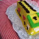 Autós torta