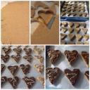 Gesztenyés csoki szívek