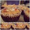Almás mandulás Muffin ,cukorbetegeknek is kiváló