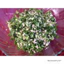 Arab saláta bulgurral és uborkaval