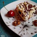 Sütés nélküli habos cseresznyéskocka Kata módra
